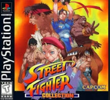 Street Fighter Collection ISO [NTSC] [Inglés] PSX