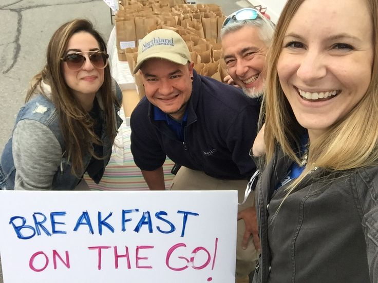 "We had a very successful ""Breakfast On The Go"" this morning for our residents!  Thank you #Proscape Landscaping for sponsoring the event. ‪#‎WeLoveOurResidents‬ #TatnuckSquare #Apartments #Breakfastonthego 508-342-5927"