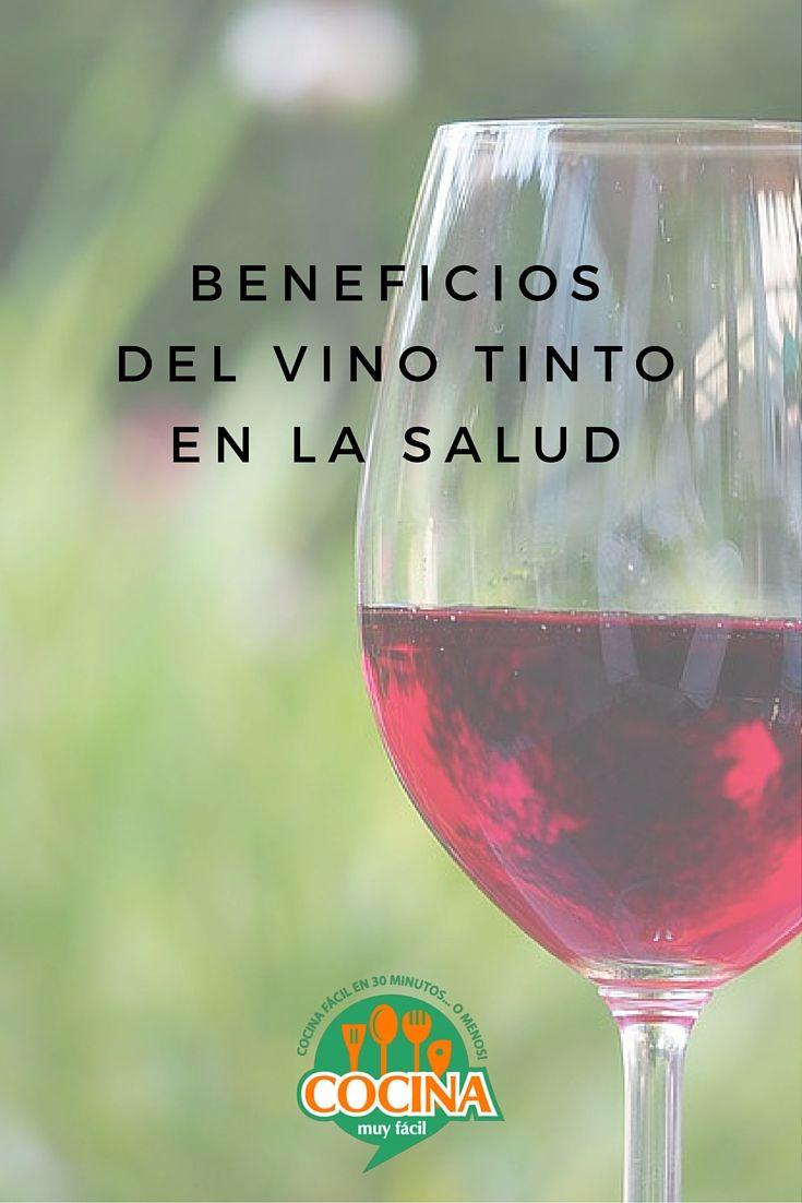 ¿Acompañas tu comida con una copa de vino tinto? Entérate de los múltiples beneficios del Vino Tinto en la Salud | Cocina Muy Fácil | http://cocinamuyfacil.com