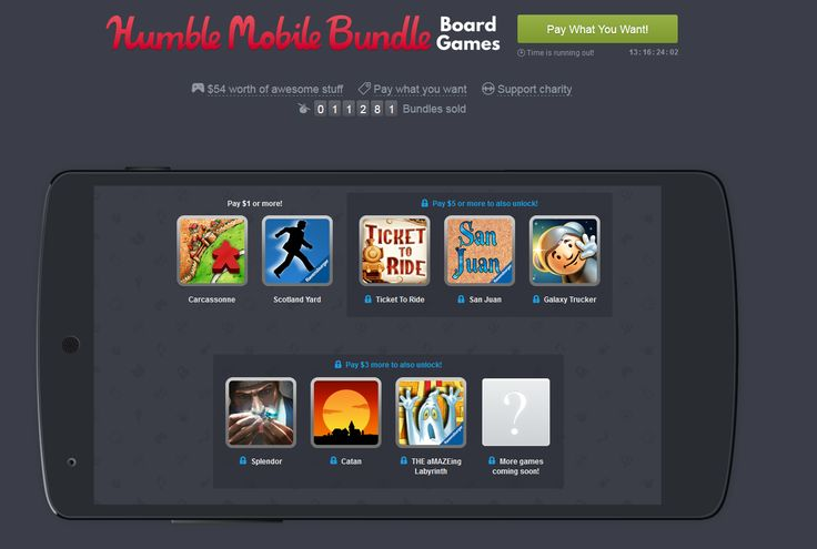 Humble Mobile Bundle - Board Games - $1 $3 $5! -Android only #LavaHot http://www.lavahotdeals.com/us/cheap/humble-mobile-bundle-board-games-1-3-5/135989