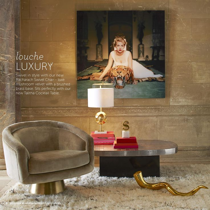 Home Interior Catalog 2013: Glam It Up: Jonathan Adler Fall 2013