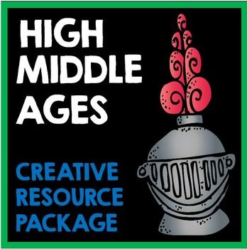 High Middle Ages: Creative Resource Package.  Includes Cornell Notes, templates, projects, and activities.  Perfect for Interactive Notebooks!