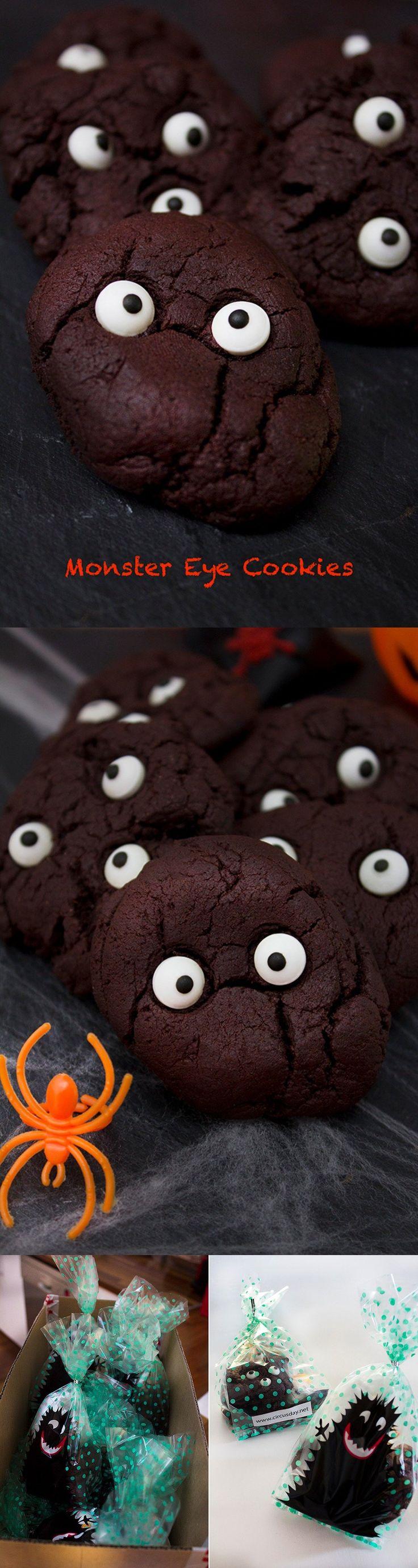 Espeluznantes galletas para Halloween / http://www.circusday.net/