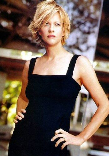Meg Ryan- the hair, the looks, the smile, the talent, the style and grace... tho...