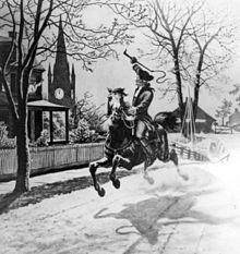 Listen, my children, and you shall hear, Of the midnight ride of Paul Revere, On the eighteenth of April, in Seventy-Five; Hardly a man is now alive, Who remembers that famous day and year,  - Henry Wadsworth Longfellow