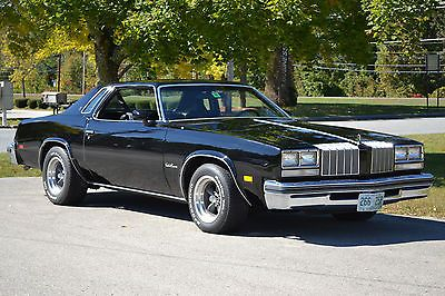 1977 Oldsmobile Cutlass Supreme Black Pictures to Pin on Pinterest