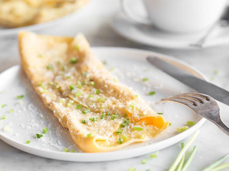 Locker luftiges Omelett