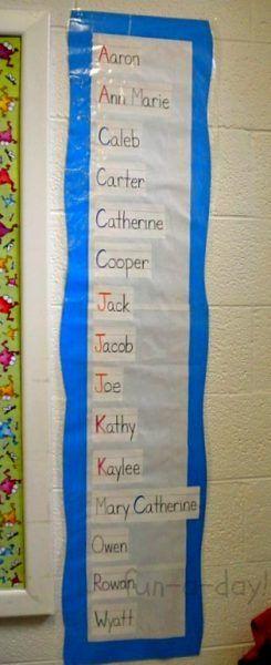 15+ Name Activities for Preschoolers