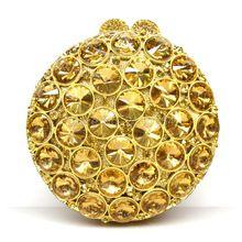 Runde Luxus Kristall Diamant türkis Clutch Abendtasche hochzeit Geldbörse Luxus Voller Kristall Stein Damen Bankett Tasche 88235 //Price: $US $66.88 & FREE Shipping //     #abendkleider