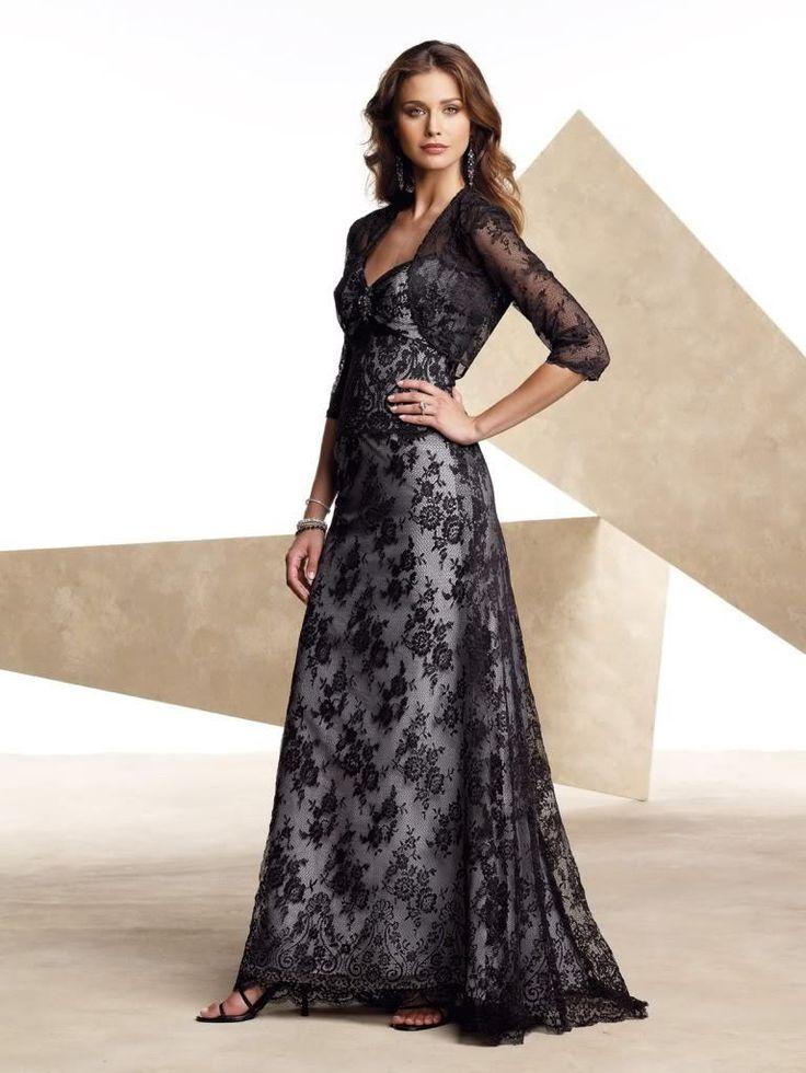 Livraison gratuite en dentelle de mariée boléro 2013 vendeur chaude nouveau mariées robes de dentelle noire bonne, unique bonne robe de soirée robe formelle