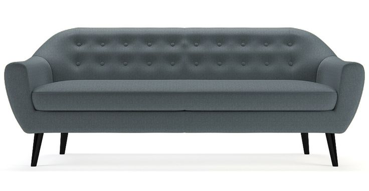 Brosa Kraesten 3 Seater Scandinavian Style Couch - Ash Grey | $1,049.00