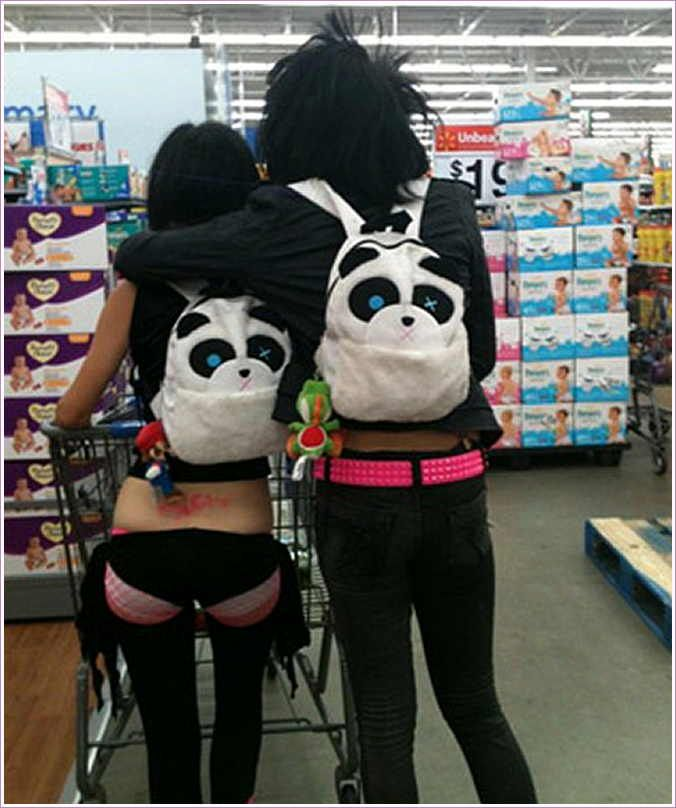panda emo girl by - photo #41