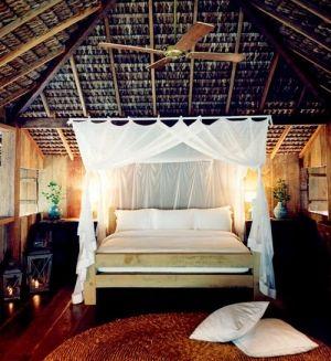 rustic romantic bedroom by Moochiemomma