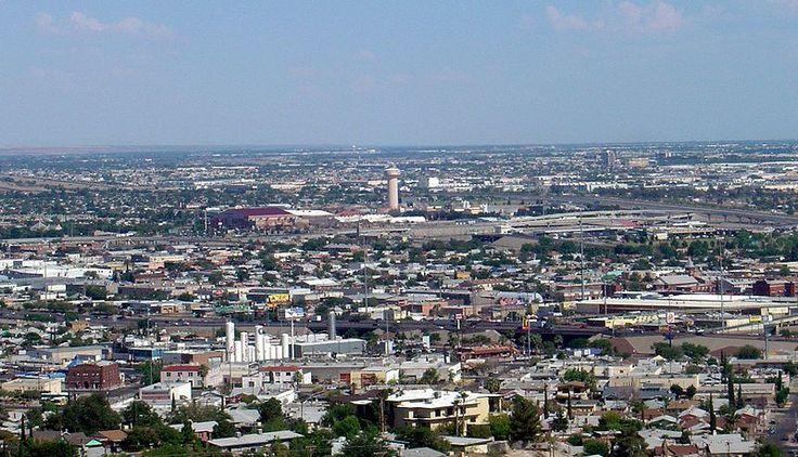 El Paso, Texas -  By Smguy101 at en.wikipedia [Public domain], from Wikimedia Commons