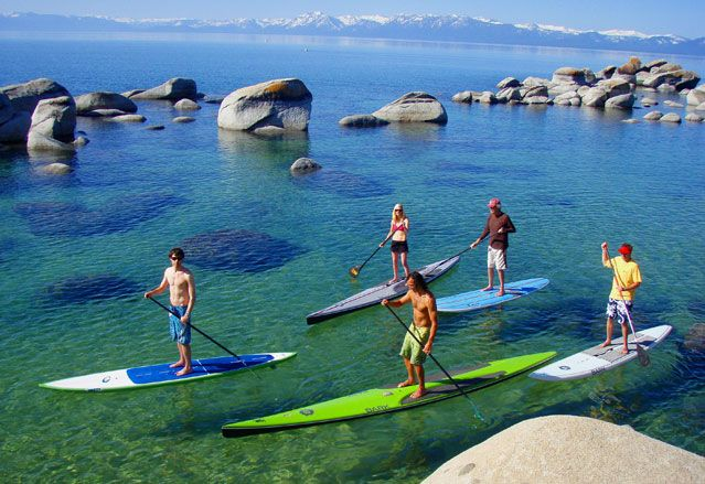 Stand-up paddle boarding.  I suspect that I will be terrible at this, which is not the point.