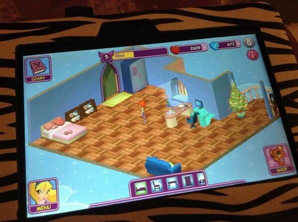 Winx Fairy School dorm by EllaA