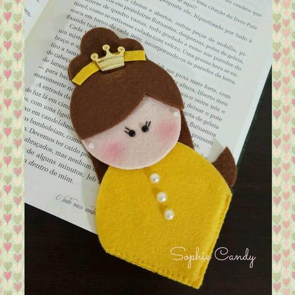 Marca Pagina Princesas Disney