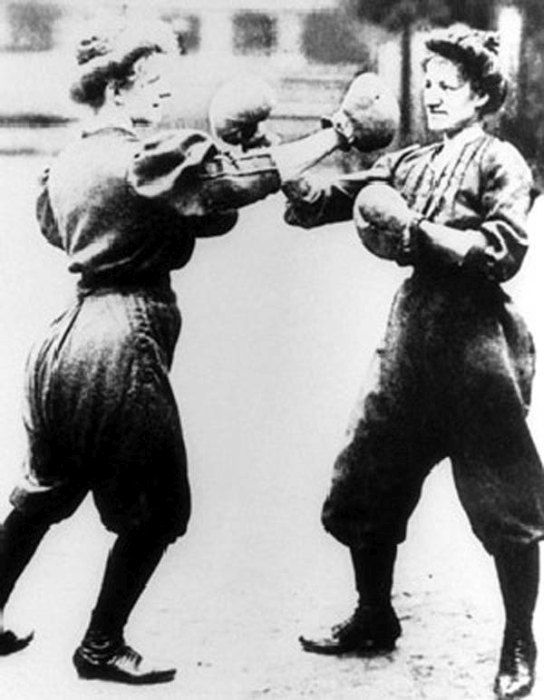 Women's Boxing, Olympic Games in St. Louis, 1904