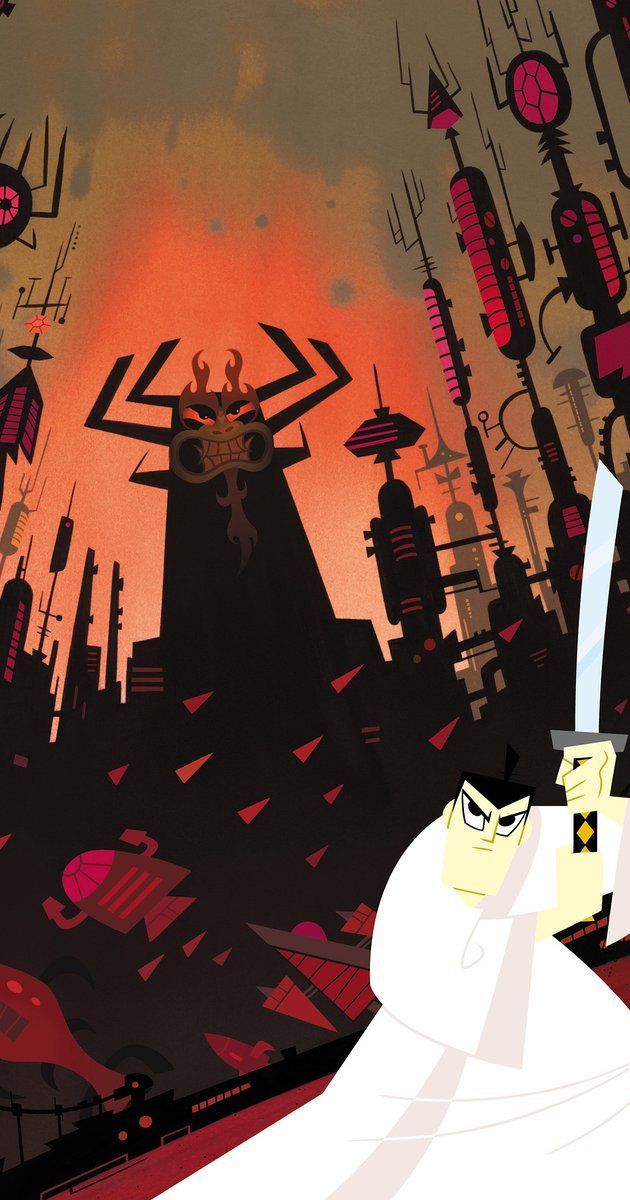 Created by Genndy Tartakovsky.  With Phil LaMarr, Mako, Kevin Michael Richardson, Jeff Bennett. A samurai sent through time fights to return home and save the world.