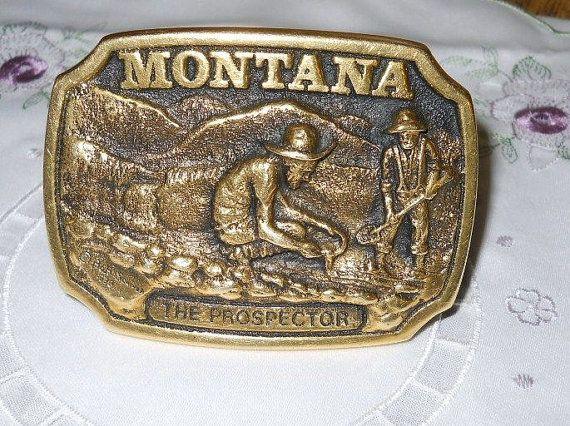 Vintage 1978 Bob Scriver Solid Brass by montanatreasures4u on Etsy, $125.00