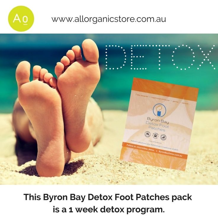 Need to detox?  Why not detox while you sleep with Byron Bay's Detox Foot Patches. Available online at - www.allorganicstore.com.au