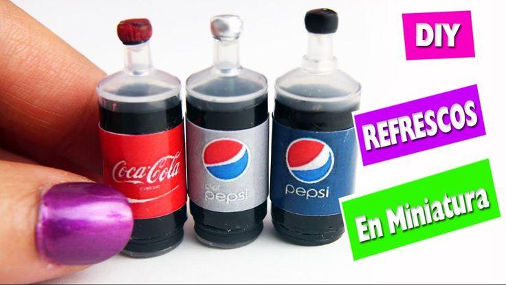 DIY - Botellas de Cola - Soda - Refrescos - Gaseosas - manualidadescon...