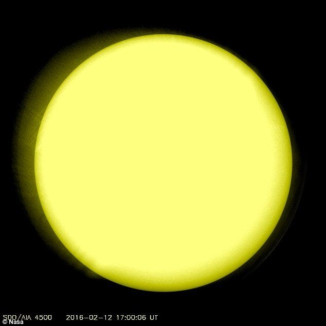The sun is in the midst of its quietest period in more than a century. In February, it was in 'cue ball' mode, with an incredible image from Nasa showing no large visible sunspots seen on its surface