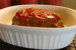 Kristi's Recipe Box: Meatloaf with Panko Bread Crumbs