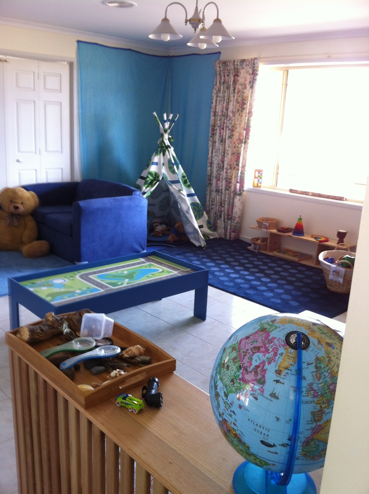 Playroom from right