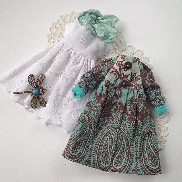 Комплект для куклы Блайз ( платье из хлопкового шитья и летний плащ) , стоимость 2600 рублей, плюс почтовые расходы. #blythe #blythegram #blythedoll #одеждадляблайз #одеждадлякукол #куклаблайз #блайз #шью #шьюсама