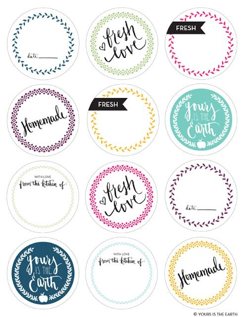 22 Best Favor Labels, Templates For Favor Labels Images On