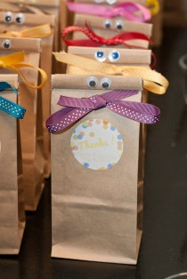 Pochettes surprise pour les enfants #mariage #wedding
