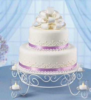 Подставки для тортов WILTON Candlelight White