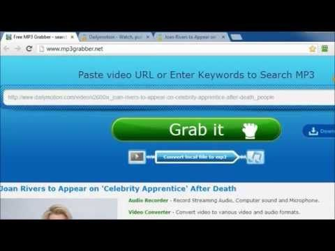 This video will introduce five remarkable link to MP3 converter online. You can watch it and learn more.
