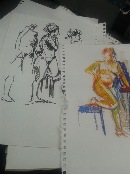 Sketches, Mai 2015, Pauline Lugon