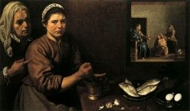 Velázquez Chrystus w domu Marii i Marty  | Dwutygodnik
