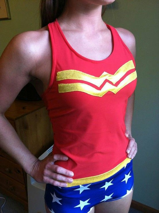 Okay...disney has superhero running outfits!  I'm so in!