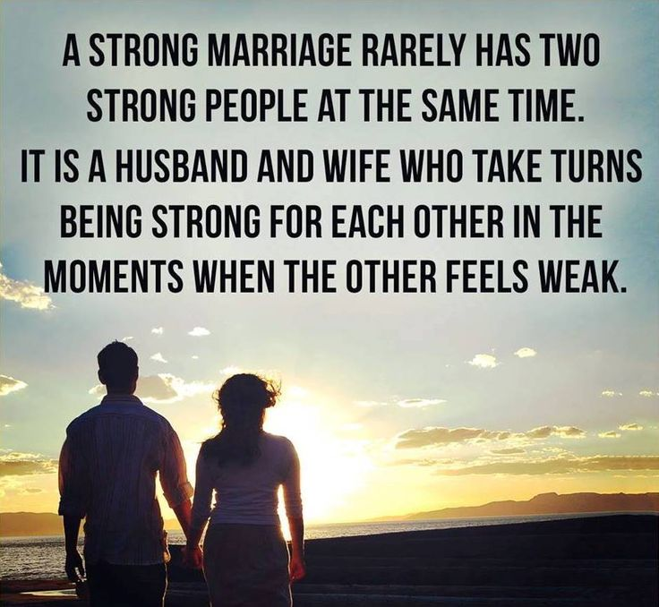 "Husband Wife Pics With Quotes: ""In A Strong Marriage, Instead Of ""give And Take,"" Both"