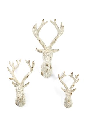 IMAX N/A Set of 3 Woodland Reindeer Wall Décor