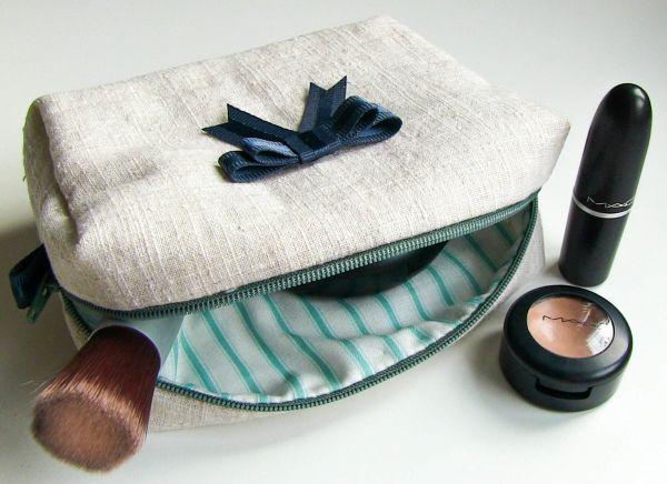 Nähen Kosmetiktasche + Muster herunterladen – Basteln und Selbermachen, wie es mir gefällt