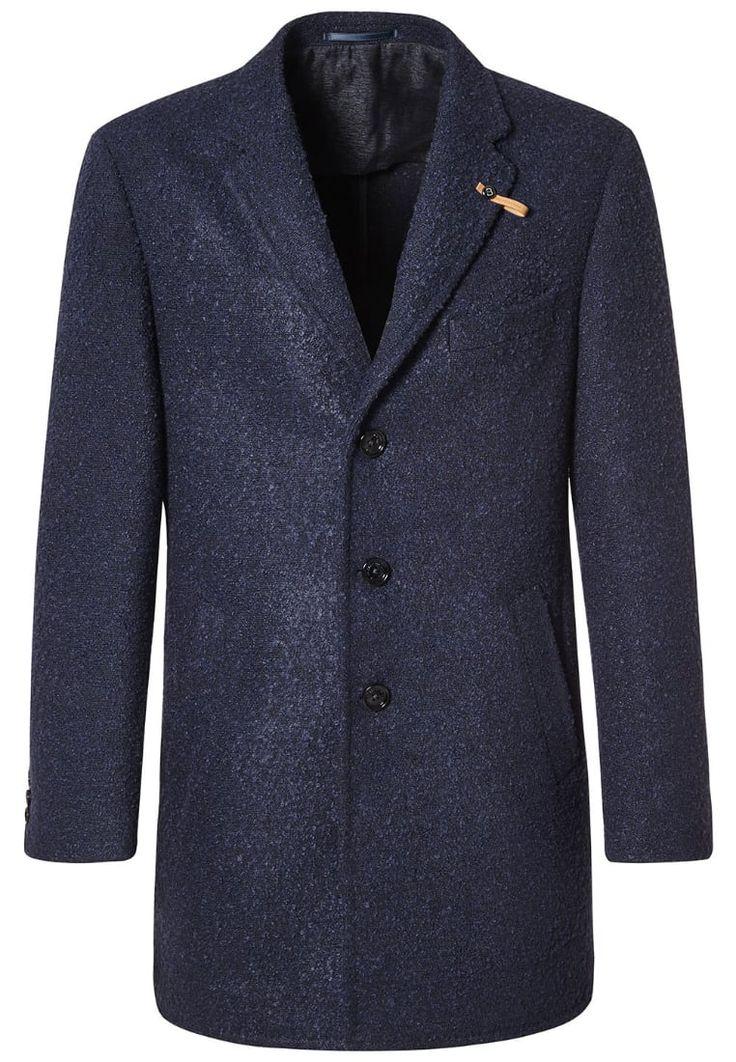 Baldessarini HADLEY Wollmantel / klassischer Mantel dunkelblau Premium bei Zalando.de   Material Oberstoff: 38% Wolle, 31% Polyacryl, 31% Polyester   Premium jetzt versandkostenfrei bei Zalando.de bestellen!