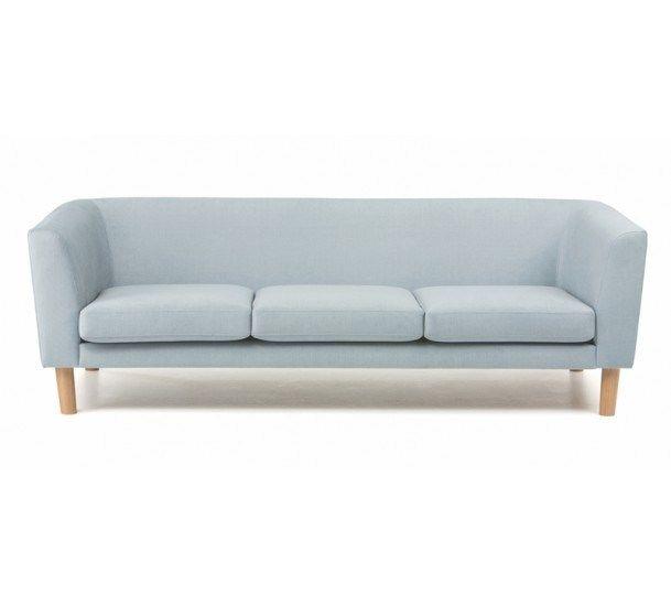 De Pecchi - Sofa - Lys blå - Lyseblå 3-seters sofa