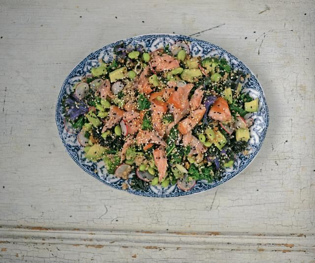 SUPERFOOD SALAD by Gizzi Erskine @Cookbooth http://www.cookbooth.com/recipe//superfood-salad-87327