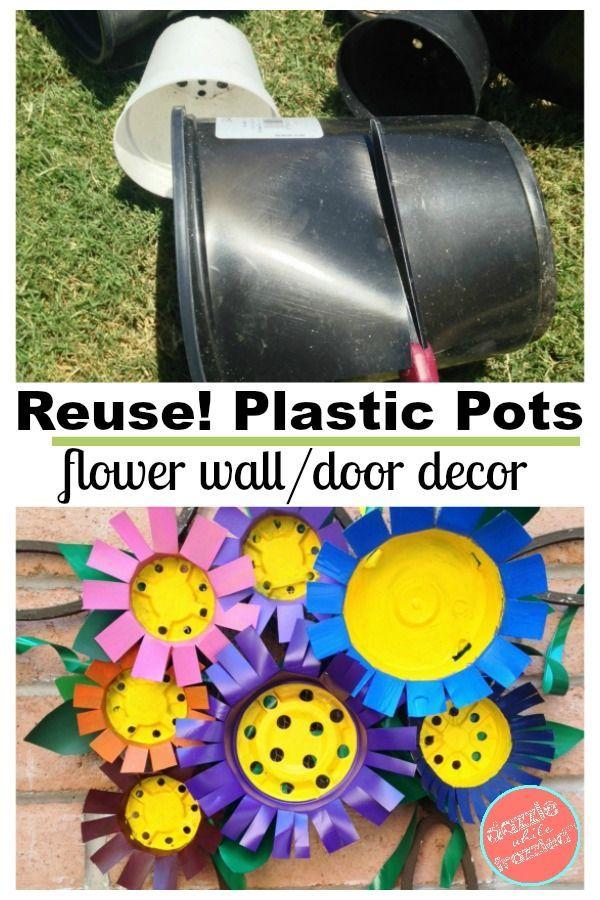 Nursery Pots Into Bright Flower Decor