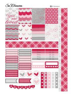 Free Valentines Day Planner Printable ~ snstreasures
