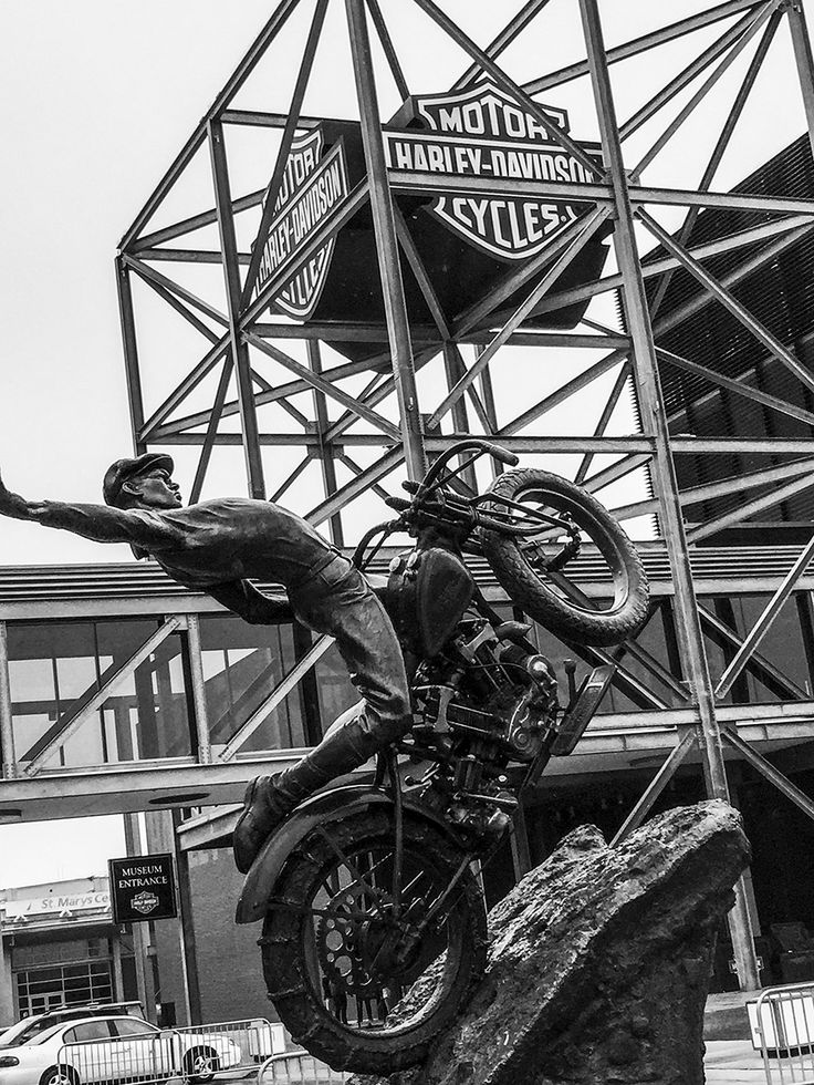 The Harley Davidson Museum in Milwaukee WI