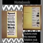 Interactive Science Notebook Middle School Motion and Forces Vocabulary Foldable Students will create a vocabulary foldable for their interactive s...