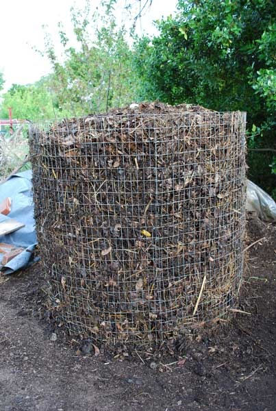 how to build a compost heater