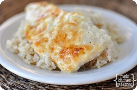 Creamy Swiss Cheese Chicken Bake 2 pounds boneless, skinless chicken ...