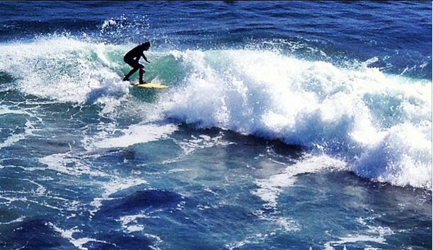An experience of surfing and the desire to overcome my fear of the deep